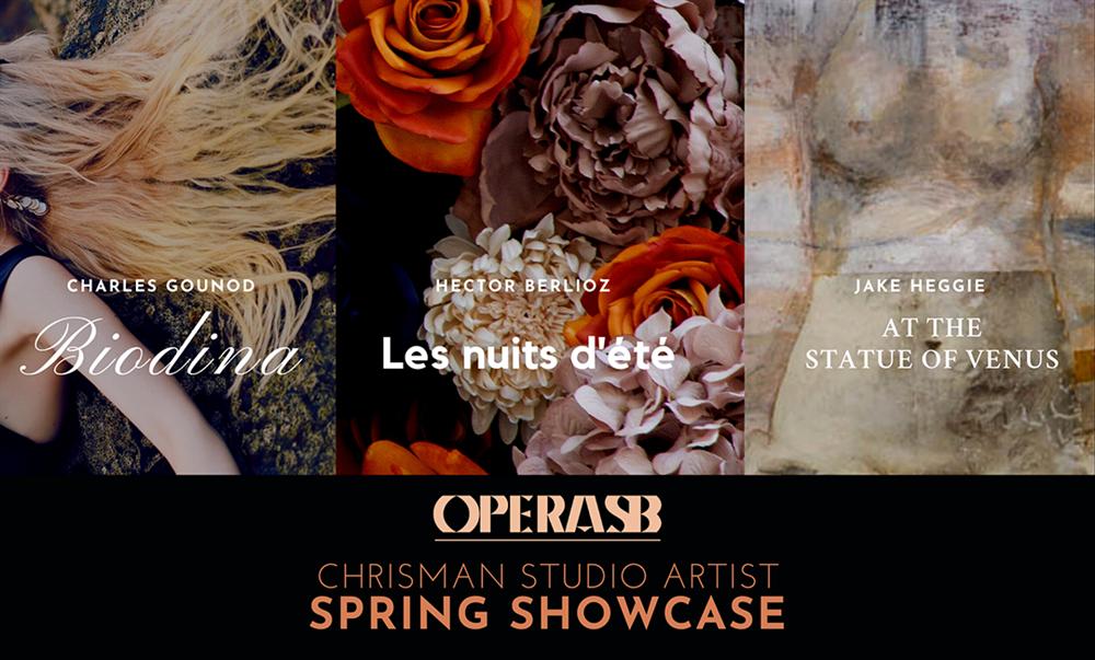 Opera Santa Barbara Presents  Chrisman Studio Artist Showcase