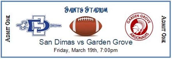 San Dimas High School Varsity Football