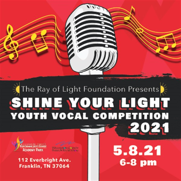Shine Your Light Youth Vocal Competition
