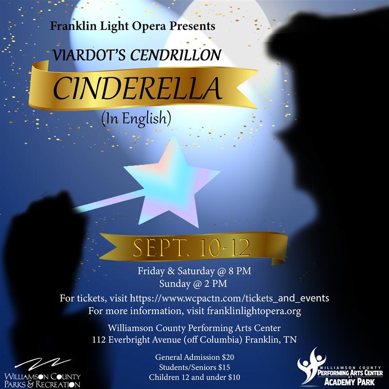Franklin Light Opera presents Cinderella