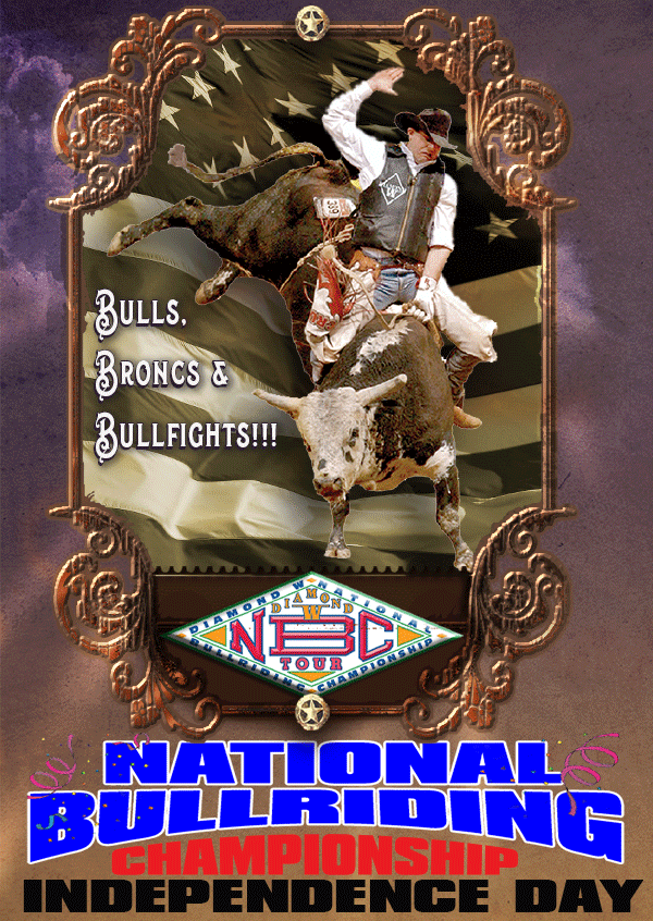 NBC Independance Day - Bulls, Broncs & Bullfights