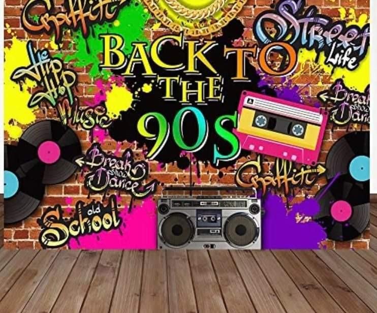 90's Theme Party Phoenix Black Connections