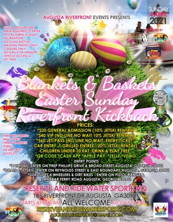 BLANKETS AND BASKETS EASTER SUNDAY KICKBACK