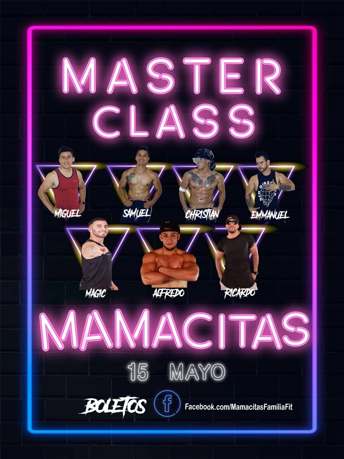 MASTER CLASS MAMACITAS