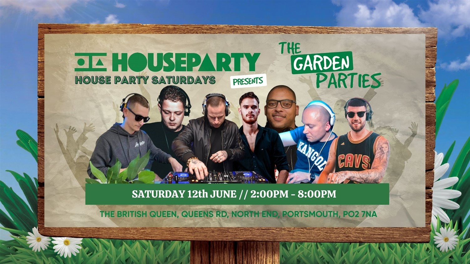 House Party The Launch Garden Party  on Jun 12, 14:00@The British Queen - Buy tickets and Get information on House Party Europe Ltd