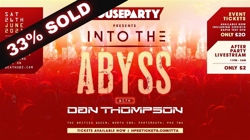 House Party Presents: Into The Abyss Garden Party
