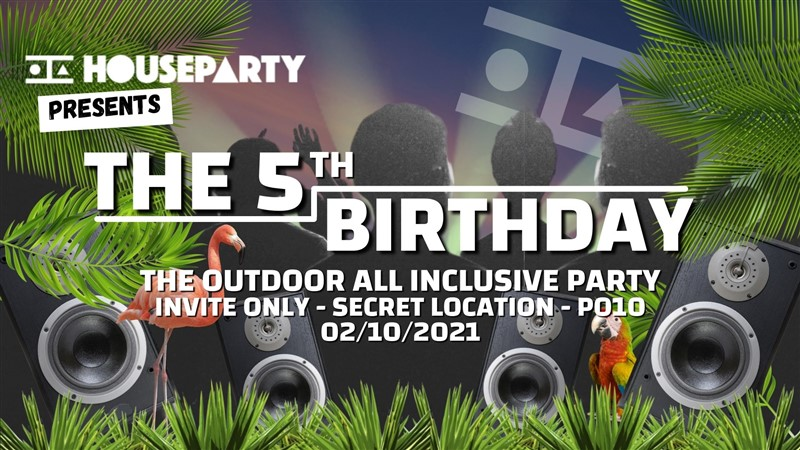 House Party Presents: The 5th Birthday