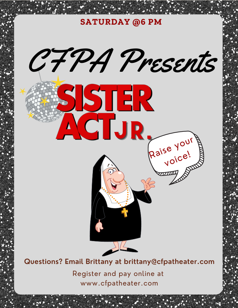CFPA presents Sister Act Jr. image