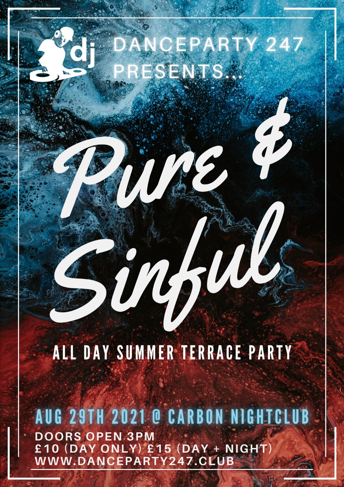 Pure&Sinful  on Aug 29, 15:00@Carbon - Buy tickets and Get information on www.danceparty247.club