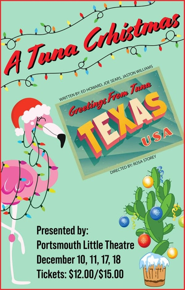 Get Information and buy tickets to A Tuna Christmas  on Portsmouth Little Theatre