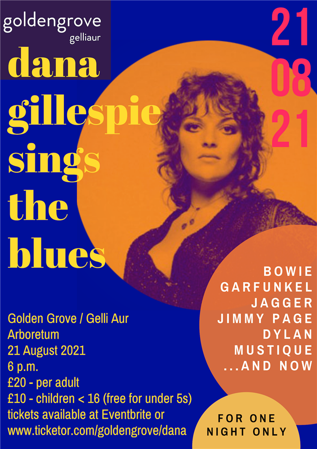 Dana Gillespie Sings the Blues