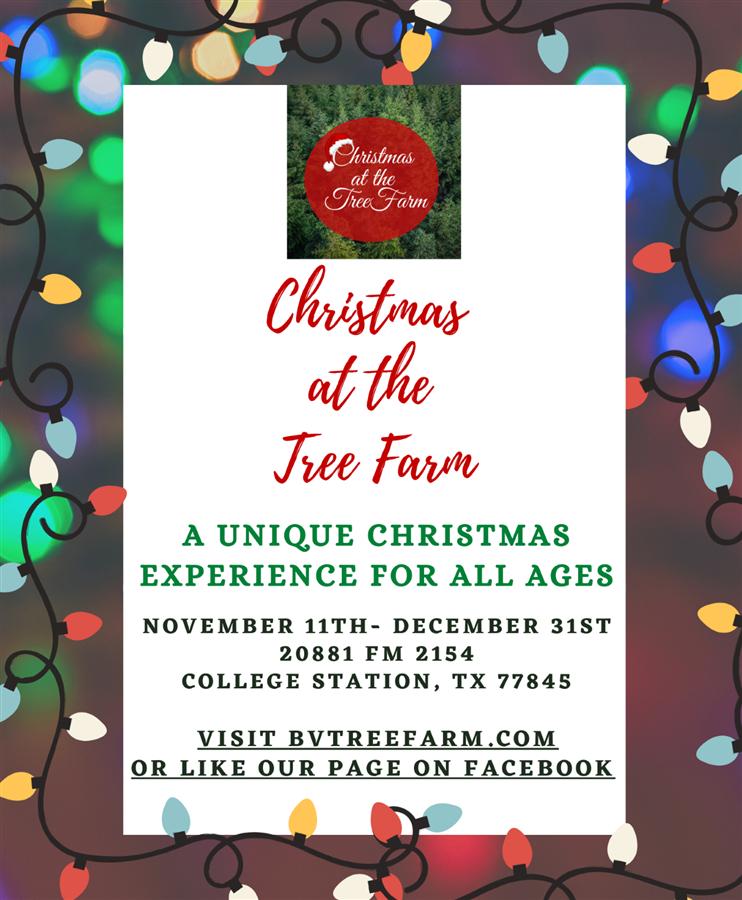 Christmas at the Tree Farm 2021