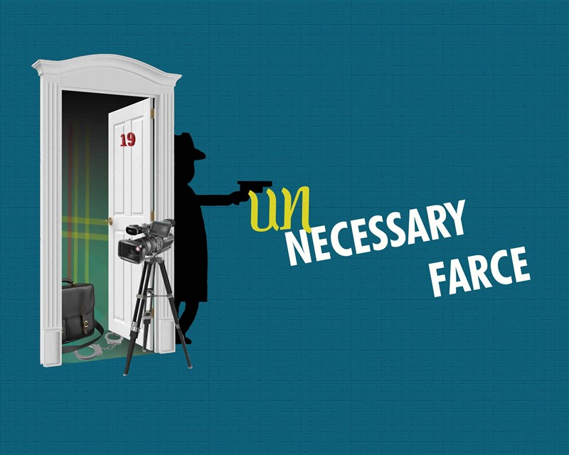 Get Information and buy tickets to Unnecessary Farce  on Clarksville Community Players,