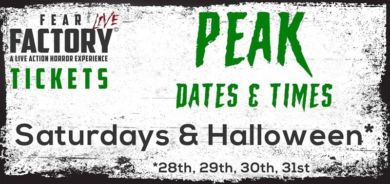 Fear Factory Live 2021 - Peak £15.00 (+ 95p Booking Fee)