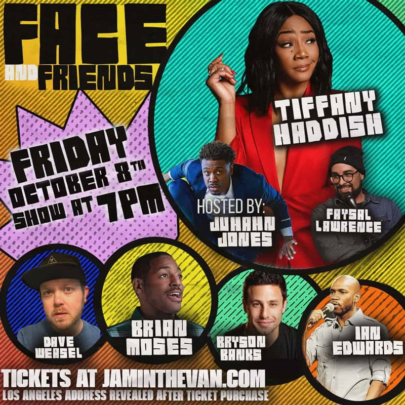 Get Information and buy tickets to Face and Friends  on Jam in the Van