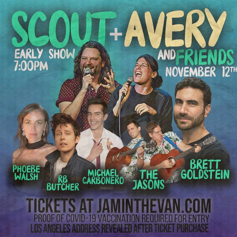 Get Information and buy tickets to Scout & Avery and Friends  on Jam in the Van