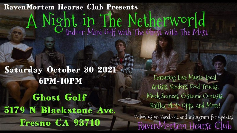 Get Information and buy tickets to Raven Mortem Presents NIGHT IN THE NETHERWORLD on T45