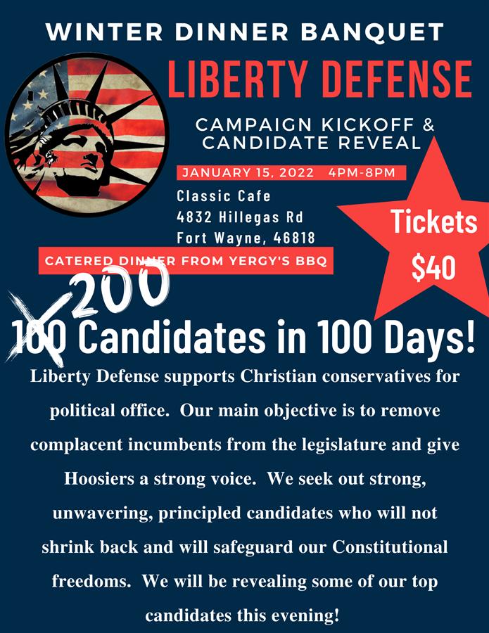 Liberty Defense Winter Banquet