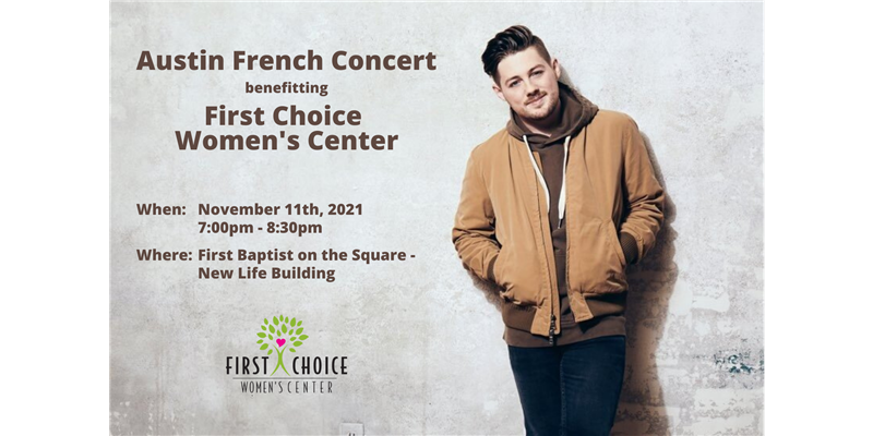 Austin French Concert benefitting First Choice Women's Center