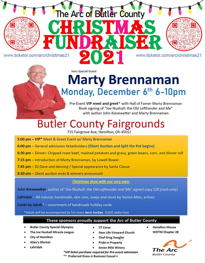 ARC of Butler County Christmas Fundraiser 2021