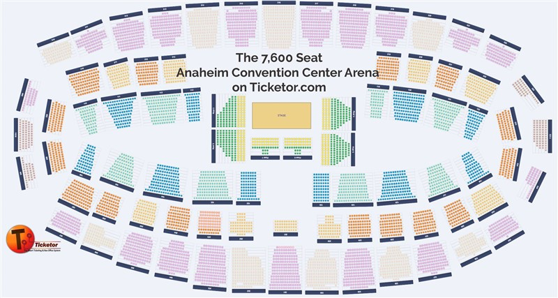 Get Information and buy tickets to A Big Concert Assigned seat event in a convention center / 7600 seats on Ticketor Demo