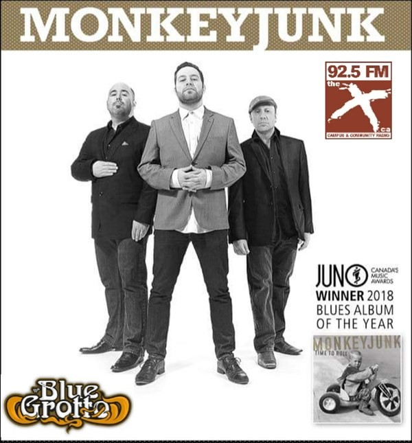 Get Information and buy tickets to MONKEYJUNK  on www.KamTix.ca