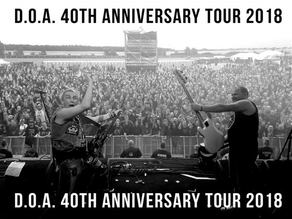 Get Information and buy tickets to D.O.A. 40th Anniversary Tour on www.KamTix.ca