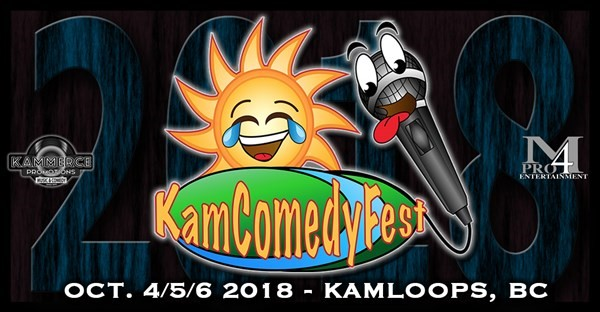 Get Information and buy tickets to KamComedyFest 2018 VIP Festival Pass on www.KamTix.ca