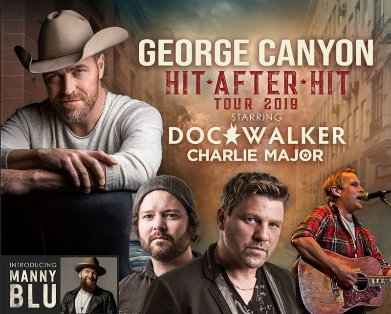 Get Information and buy tickets to George Canyon : Hit After Hit Tour w/ Doc Walker & Charlie Major on www.KamTix.ca