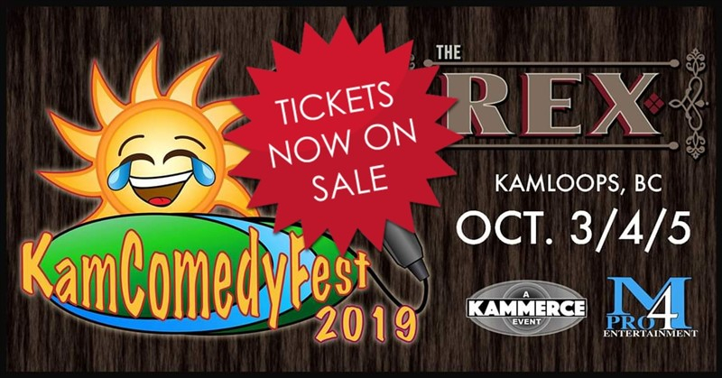 Get Information and buy tickets to KamComedyFest Single Show Ticket show of your choice on www.KamTix.ca