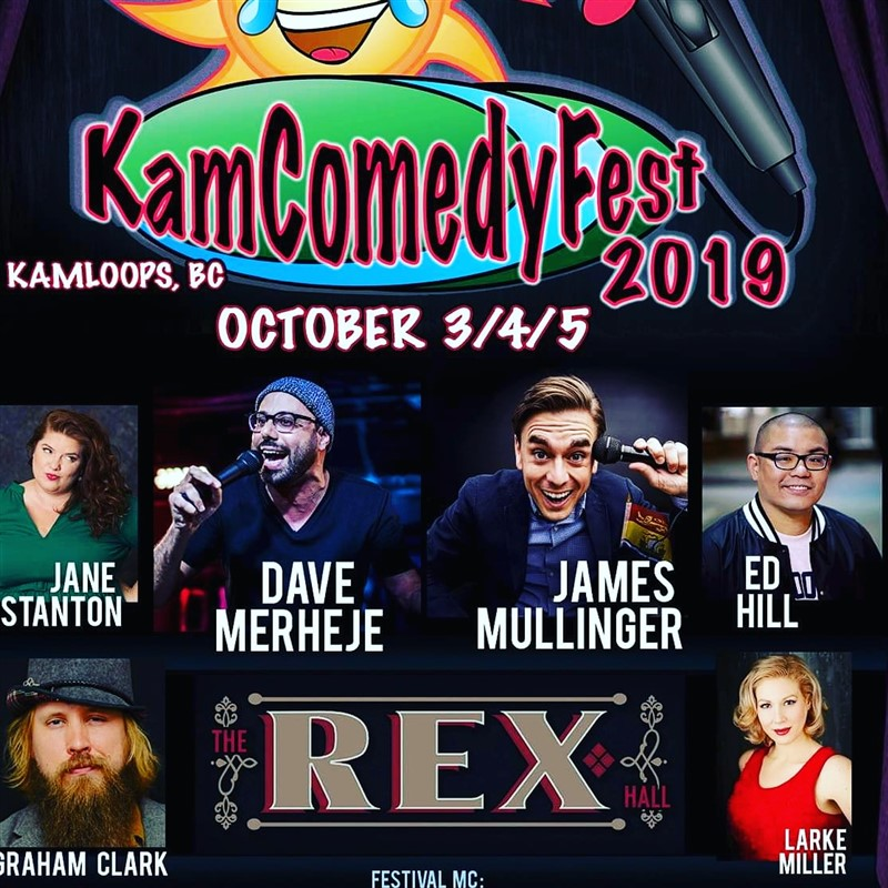 Get Information and buy tickets to KamComedyFest Single Show Ticket Fri or Sat ONE SHOW OF YOUR CHOICE on www.KamTix.ca