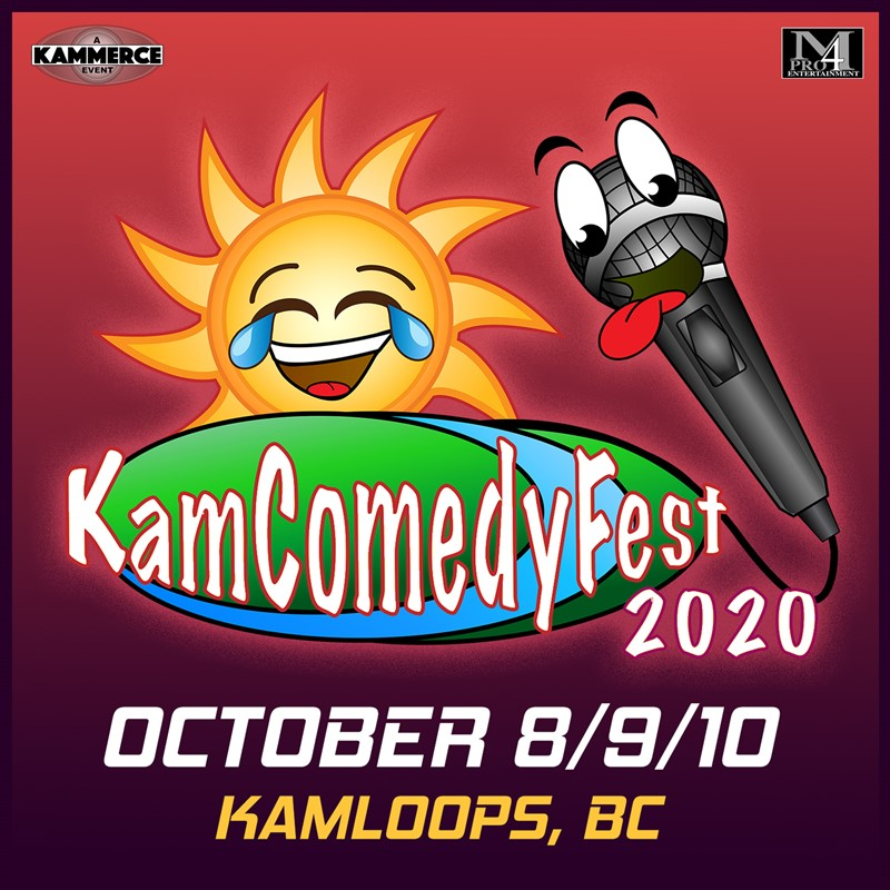 Get Information and buy tickets to KamComedyFest 2020 VIP Festival Pass (south) Southshore Edition (3 nights, 5 shows) on www.KamTix.ca