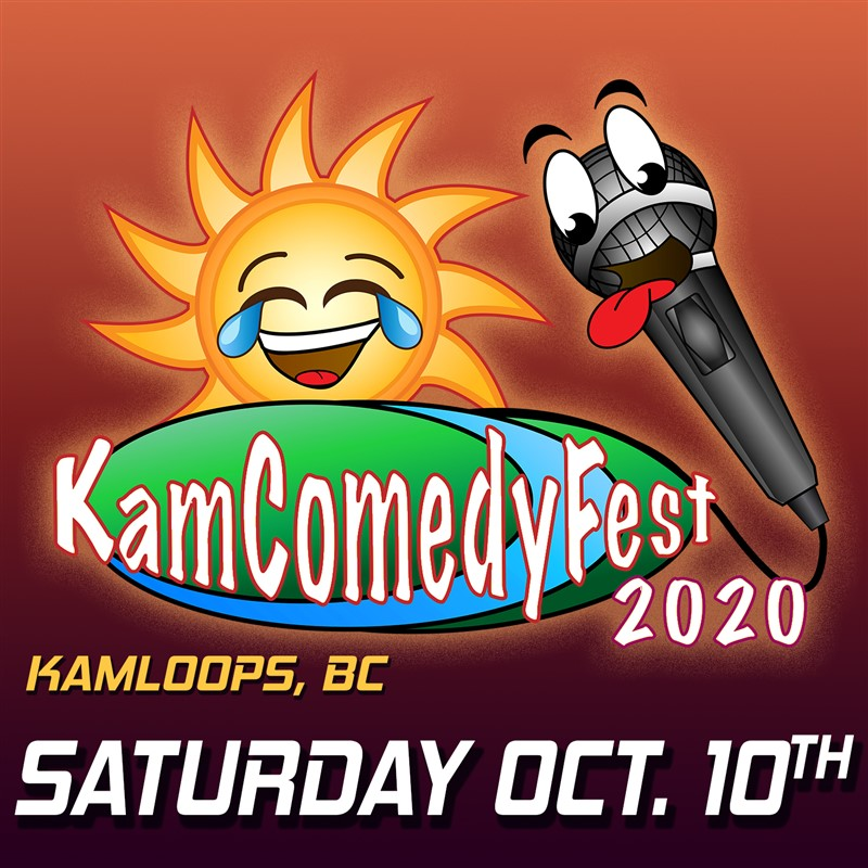 Get Information and buy tickets to KamComedyFest Saturday Oct 10th (south) Evening Pass (2 shows) Southshore Edition on www.KamTix.ca