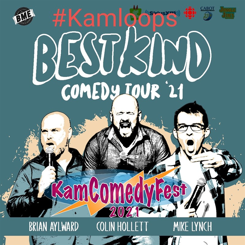Get Information and buy tickets to The Best Kind Comedy Tour #KamComedyFest #Kamloops Oct 7th on www.KamTix.ca