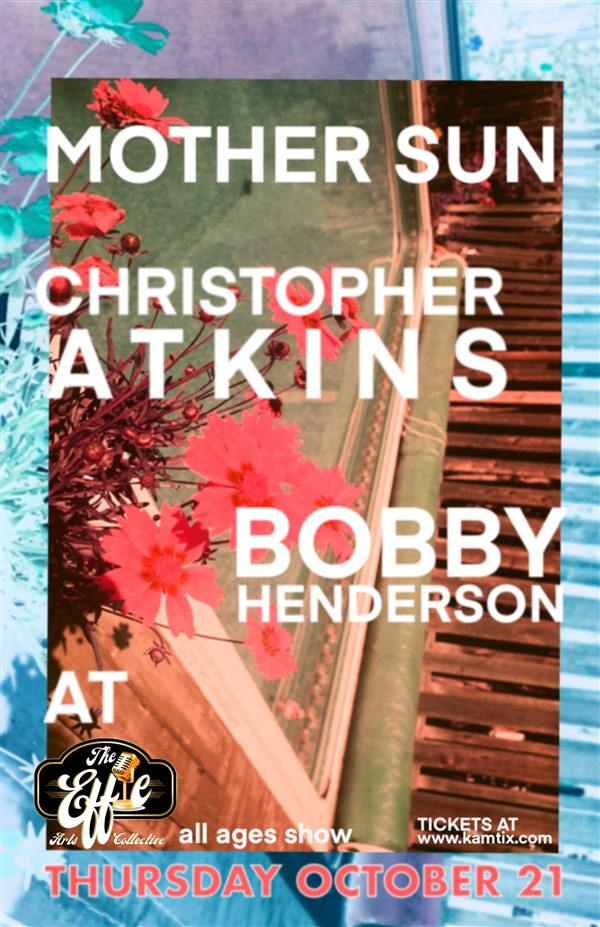 Get Information and buy tickets to Mother Sun w/ Christopher Atkins + Bobby Henderson on www.KamTix.ca