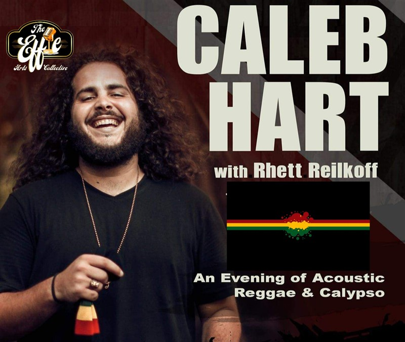 Get Information and buy tickets to Caleb Hart Acoustic Duo An Evening of Reggae & Calypso on www.KamTix.ca