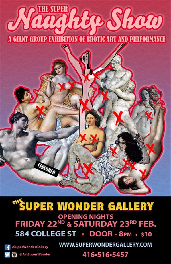 Get Information and buy tickets to SUPER NAUGHTY SHOW Saturday Night on Ticketor