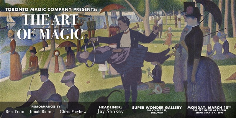 Get Information and buy tickets to Art of Magic March 2019 on Super Wonder Gallery