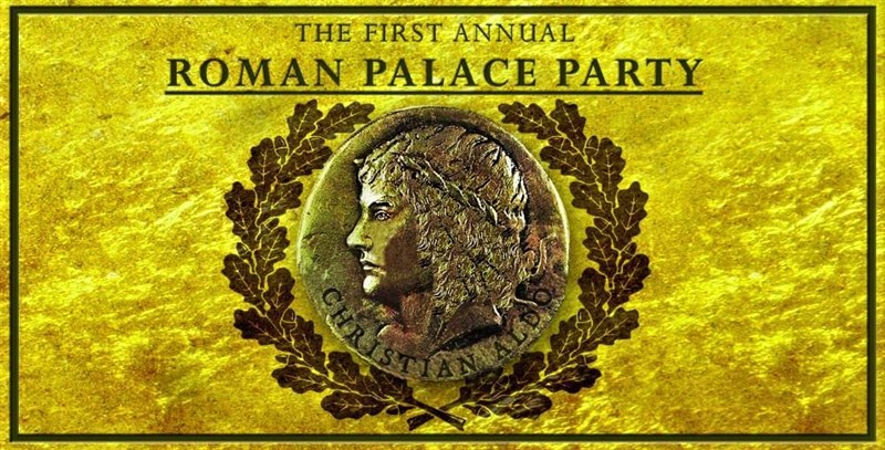 Get Information and buy tickets to Roman Palace Party Friday 10pm. Roman Attire is Mandatory on Super Wonder Gallery
