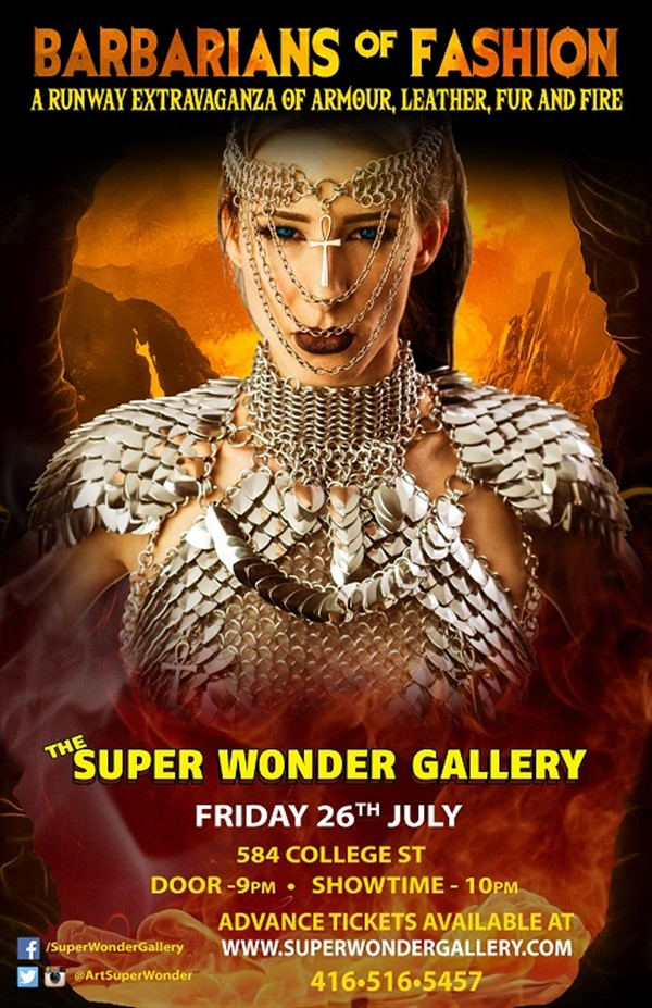 Get Information and buy tickets to Barbarians Of Fashion  on Super Wonder Gallery