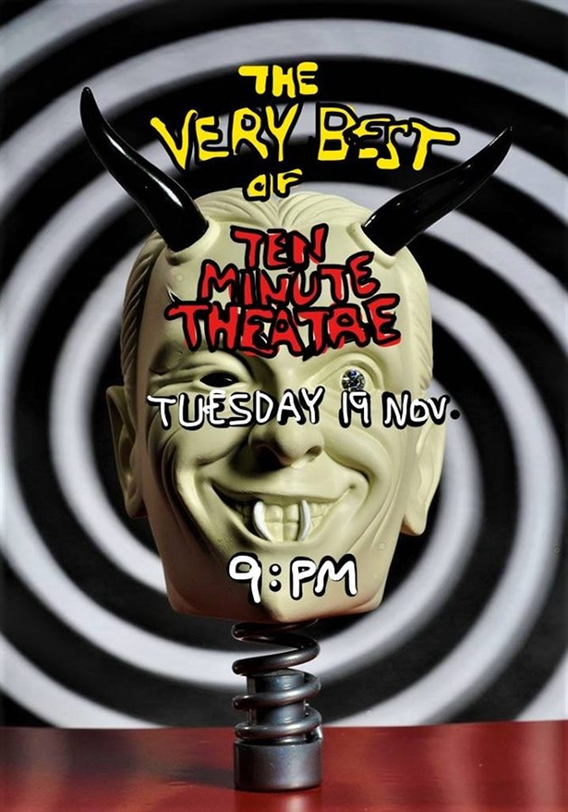 Get Information and buy tickets to Ten Minute Theatre The Very Best of on Super Wonder Gallery