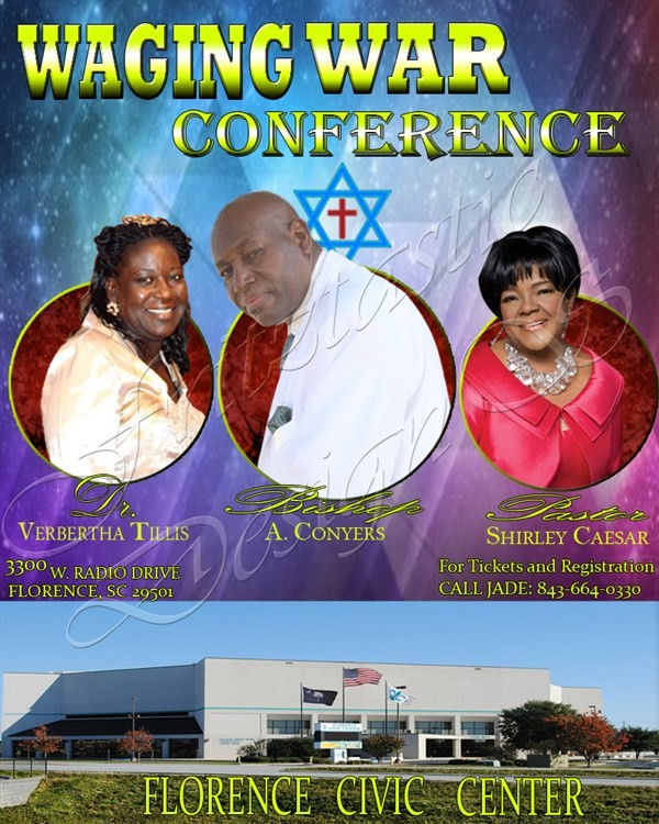 Get Information and buy tickets to WagingWar Conference  on Kingdom Tix