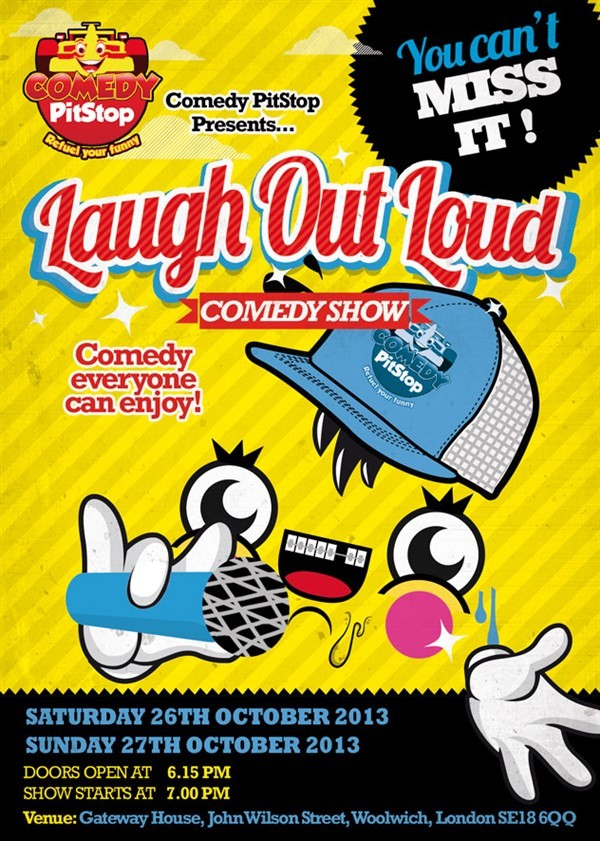 Get Information and buy tickets to Laugh Out Loud Comedy Show  on Comedy PitStop