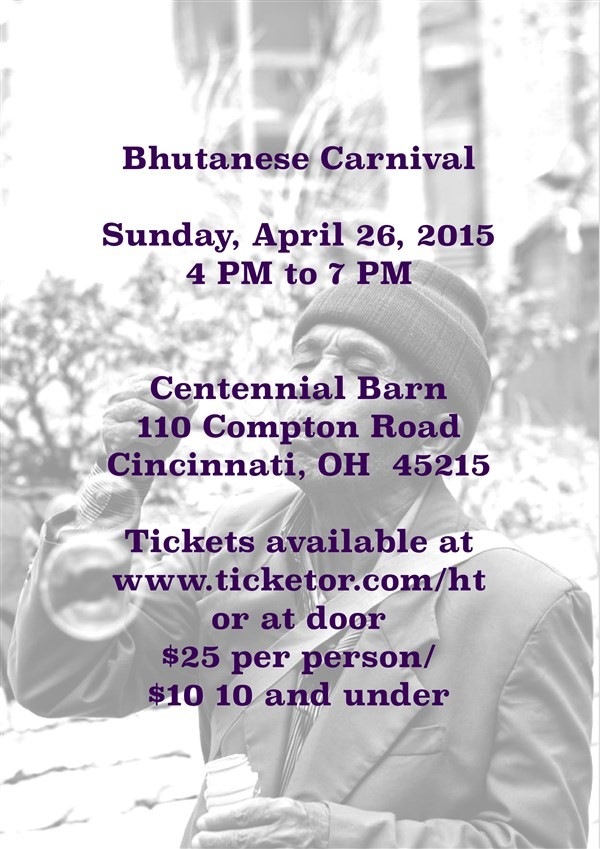 Get Information and buy tickets to Nepali/Bhutanese Carnival  on www.facebook.com/heartfelttidbits