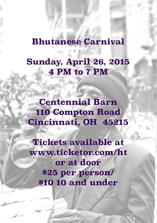 Get Information and buy tickets to Nepali/Bhutanese Carnival  on www.facebook.com/heartfelttidbits