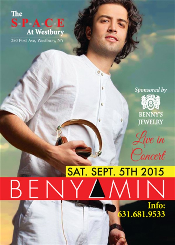 Get Information and buy tickets to Benyamin Live in Concert  on AHA Inc.