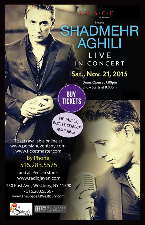 Get Information and buy tickets to Shadmehr Aghili  on AHA Inc.