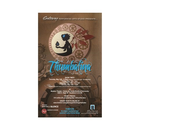 Get Information and buy tickets to Thumbalina  on Gateway Performing Arts Studio