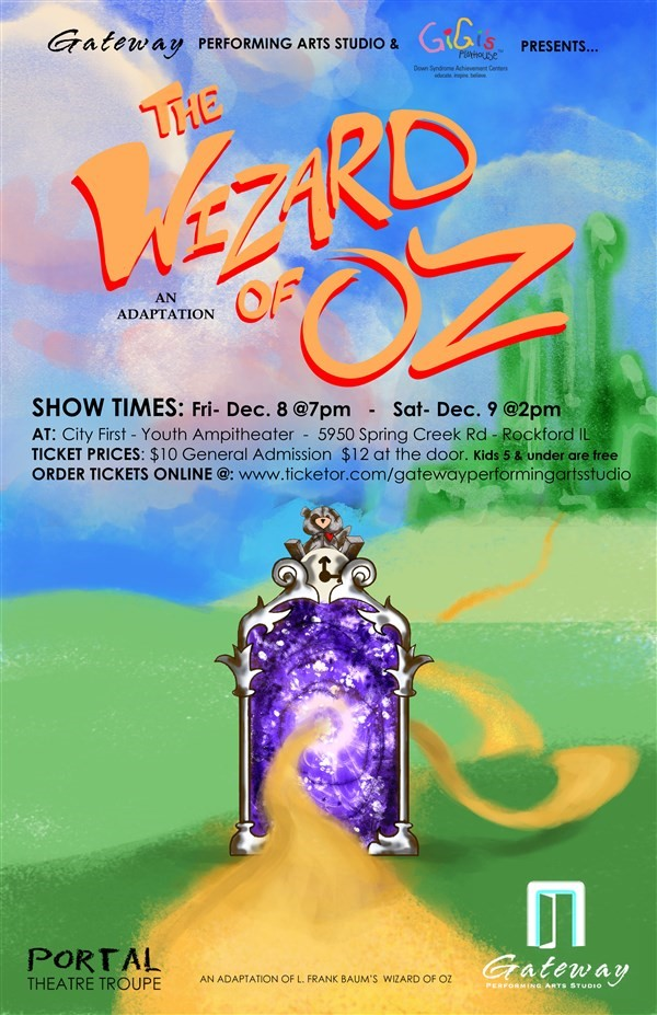 Get Information and buy tickets to The Wizard of Oz  on Gateway Performing Arts Studio
