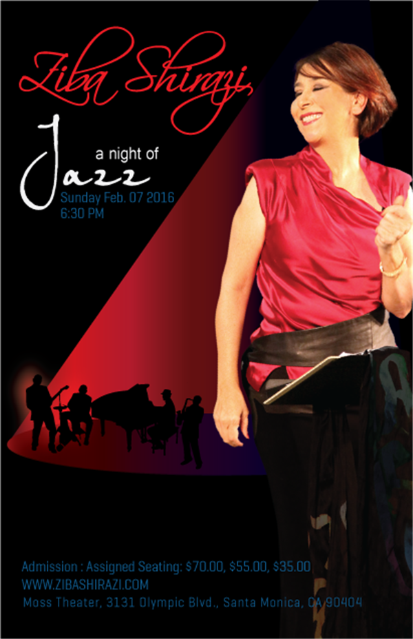 Get Information and buy tickets to A Night of Jazz  on www.zibashirazi.com